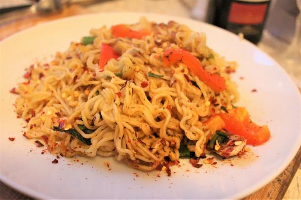 Vegetarische Rezepte: Mie-Nudeln mit Gemüse