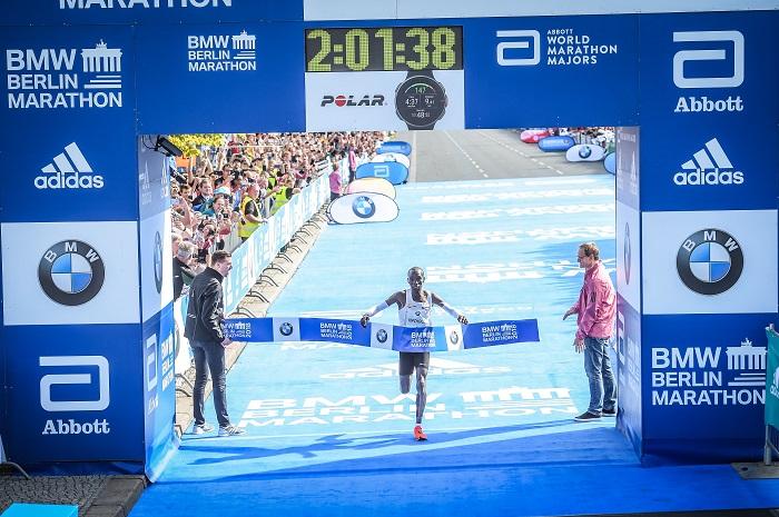 Eliud Kipchoge beim Berliner Marathon 2018