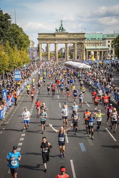 Berlin Marathon 2018 fast am Ziel
