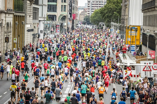 Berlin Marathon 2018 in der Masse