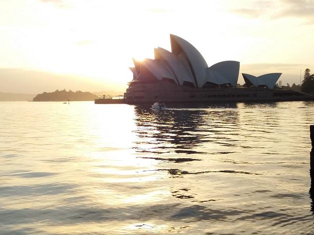 Lauffeeling in Sydney
