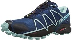 Salomon Damen Speedcross 4 Traillaufschuhe, Blau (Poseidon)