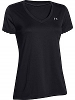 Under Armour Damen Tech Ssv Solid Fitness T-Shirts