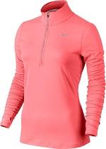 Nike Damen Element Half Zip Langarm-Laufoberteil