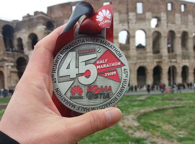 Roma-Ostia Halbmarathon 2019 Erfahrungsbericht