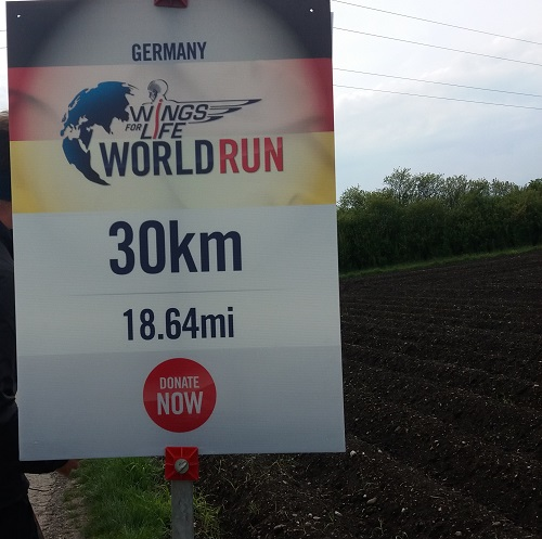 30km beim Wings for Life World Run