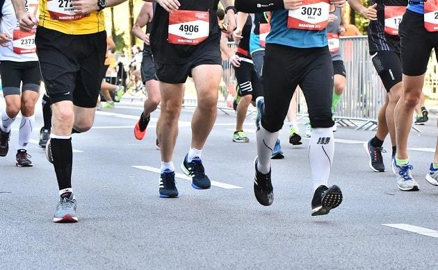 Kompressionsstrümpfe für Läufer