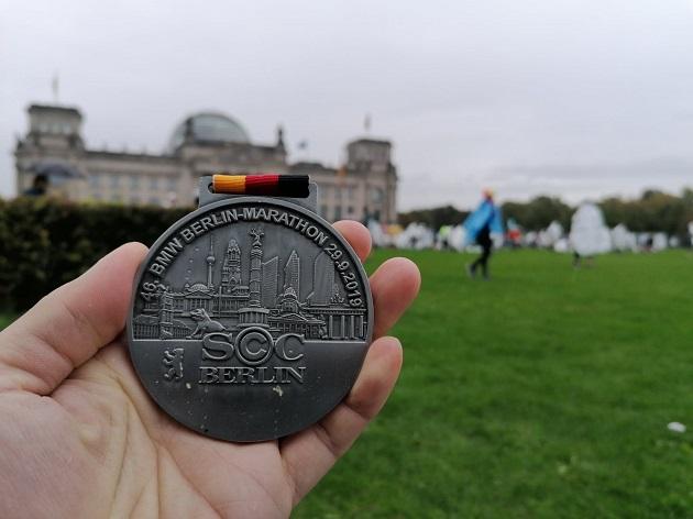Berlin Marathon 2019 Medaille