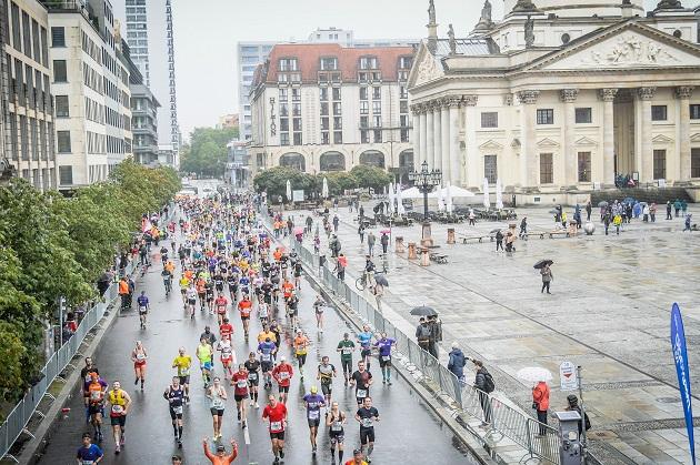 Berlin Marathon 2019 Regenschlacht