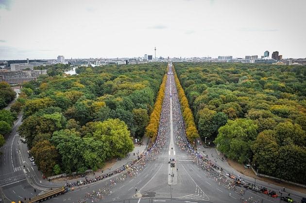 Berlin Marathon 2019 - es geht los