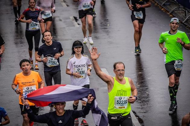 Berlin Marathon 2019 vor dem Ziel