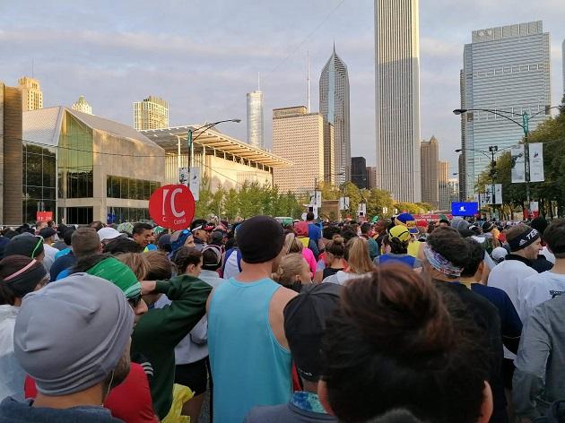 Chicago Marathon Startwelle