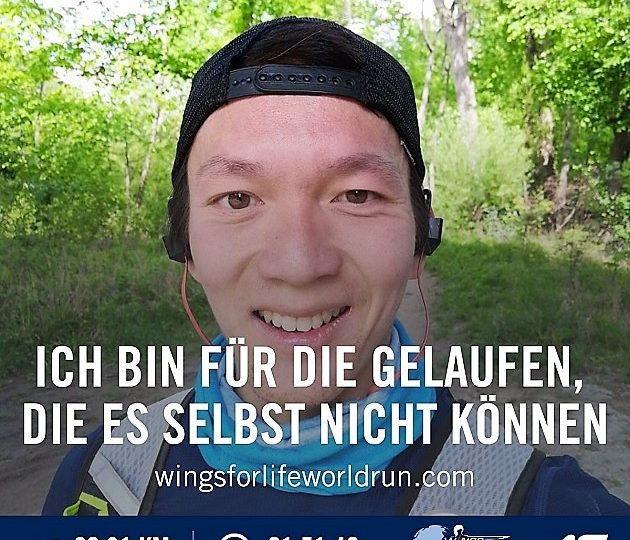 Wings for Life 2020 – Premiere mit der Running App