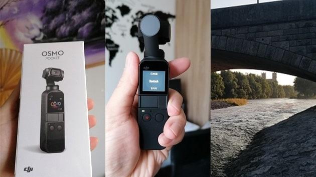 Laufen mit DJI Osmo Pocket – Handheld Gimbal im Test