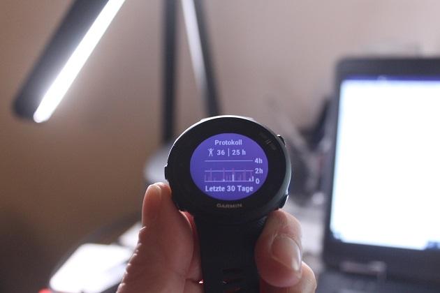 Garmin Forerunner Protokoll